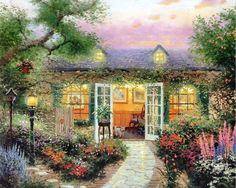 Thomas Kinkade | das Artes: Pinturas maravilhosas de Thomas Kinkade.