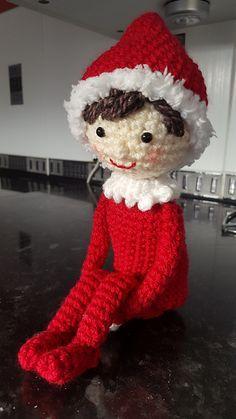 Ravelry: Elf on the Shelf pattern by Sydney Duenas