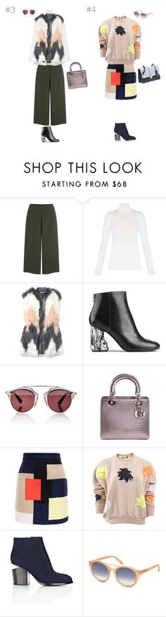 """'15 Fall/Winter Streetstyle Look"" by maries on Polyvore featuring C/MEO COLLECTIVE, BCBGMAXAZRIA, Rebecca Taylor, Acne Studios, Christian Dior, MSGM, Alexander Wang, Tom Ford and Miu Miu"