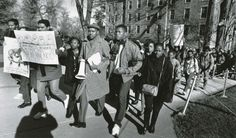 """The Black Student Union organizes a """"Day of Outrage Against Racism"""" in ..."""