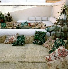 Moroccan Inspired Lounge Areas / Bohemian Bride