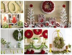 Christmas mantle ideas