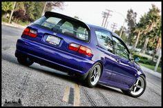 honda Civic Si EG6 photo gallery-Tuning-Cars-Araba-Girls-Kız-Otomobil-Modifiye