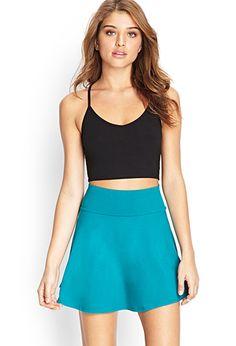Knit Skater Skirt | FOREVER21 - 2000068510 $8.80 but Sold Out