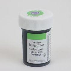 Icingfärg - Bladgrön