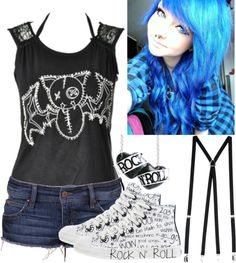 """Randoms. :P Cute bat."" by jazz-loves-you ❤ liked on Polyvore"