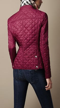 The fact that I can't afford it confirms to me that I've got good style... Burberry quilted jacket. I want it in black.