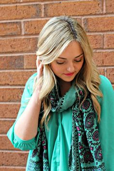 Light Spring Scarfs.