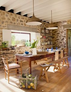 Vicky's Home: Una casa de campo tradicional /A traditional farmhouse