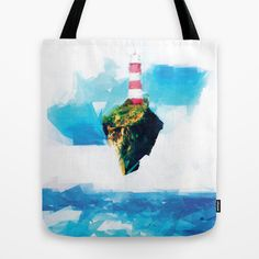 Lighthouse Tote Bag by Vadim Cherniy - $22.00