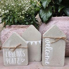 Diy Design, Fall Crafts, Diy And Crafts, Christmas Diy, Christmas Decorations, Papercrete, Concrete Crafts, Diy Weihnachten, Diy Wall Decor