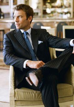 #pinstripe #suit #menswear