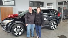Congratulations Erin & Patrick Aiello on your new 2016 CRV! Amanda Webster and everyone here at Sherwood Honda wish you both the best!!