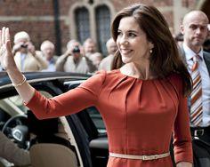 La princesa Mary de Dinamarca #realeza #royalty