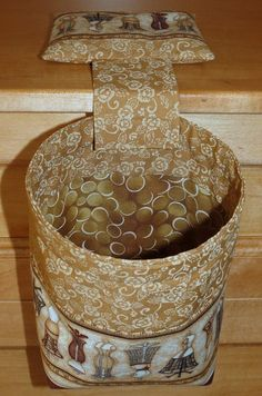 Thread Catcher Bag Pin Cushion Catchall Scrap Caddy by MiniMade, $14.00