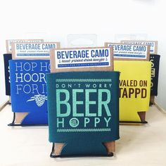 Perfect for the backyard or the beach! Drink koozies are here from @exit343 design!