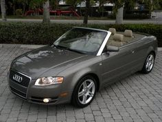 "Auto Haus of Fort Myers is offering this Recently Serviced & Inspected, 2007 Audi A4 2.0T Convertible with only 58k Miles for $19,900. It comes nicely equipped with a Alpaka Beige Metallic Exterior, Beige Leather Interior, 6-DISC CD Changer, Power Seats with Lumbar Support, Dual Zone Automatic Climate Control, Front Fog Lights, Electronic Stability Program, Power Convertible Top, On-Board Computer, Cruise Control, 17"" Alloy Wheels, 4 New Tires. Call Auto Haus of Fort Myers at 239-337-4287."