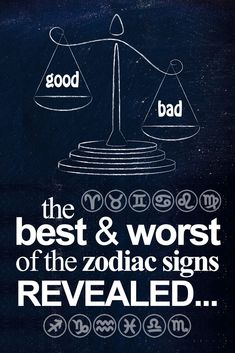 The BEST & WORST traits of each zodiac sign... i #cancer