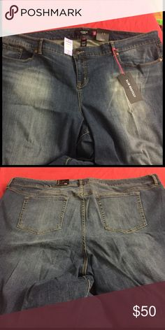 Slim boot cut torrid jeans Never been worn dark blue slim bootcut Torrid jeans. Size 28. Excellent condition. Still has the tags on them. I will post more pictures if asked. torrid Jeans Boot Cut