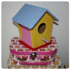 DIY birdhouse - my 5 yr old made this  #melbournemamma