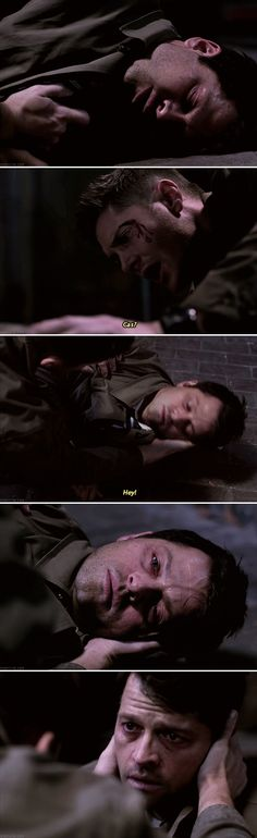 Whoever made Cas cry, I will beat the shit outta dem *Pushes up nerd glasses*