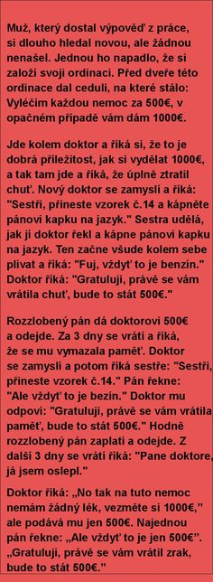 Muž, který dostal výpověď z práce, si dlouho hledal novou.. | torpeda.cz - vtipné obrázky, vtipy a videa Good Jokes, Funny Jokes, Humor, Tumblr Funny, Cringe, Picture Quotes, Best Quotes, Haha, Comedy