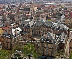 Strasbourg Cathedral - Blick vom Straßburger Münster zum Palais Rohan | Flickr - Photo Sharing!