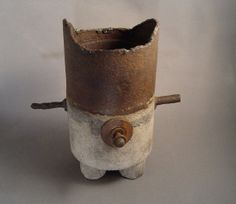 PEGU  One of a Kind Concrete and Iron by TheCeremonialHome on Etsy, $895.00