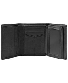 Fossil Ingram Extra Capacity Trifold Wallet - Accessories & Wallets - Men - Macy's