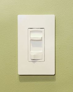 installing a dimmer switch.