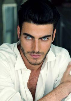 Holy Smokes, his eyes! Gui Fedrizzi, Brazilian gorgeous man!