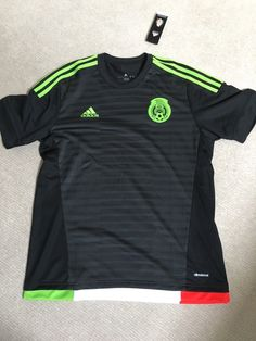 823071da16b Mexico away football shirt - adidas climacool - size l - bnwt