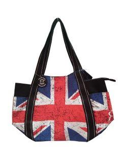 Canvas Union Jack Bag New