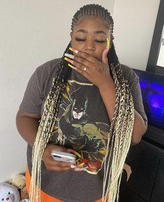 Braided Cornrow Hairstyles, Feed In Braids Hairstyles, Black Girl Braids, Braided Hairstyles For Black Women, Baddie Hairstyles, Braids For Black Hair, Protective Hairstyles, Cornrows, Protective Styles