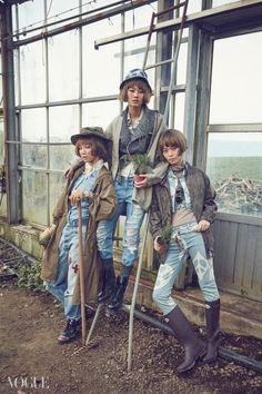 농장을 찾은 보그 아가씨들 | Vogue.com