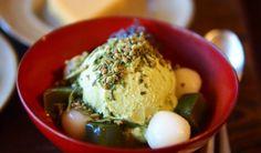 Teatime in Taipei: The Five Best Teahouse Experiences  Matcha flavor home-made icecream at Zen Zoo Tea House