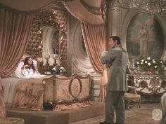 Scarlett O'Hara's beautiful #boudoir in #GonewiththeWind