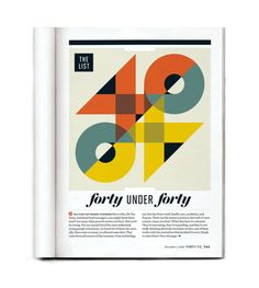 Fortune Magazine by Michael Myers, via Behance