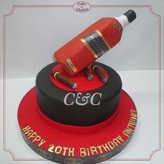 #cakes #art #dessert #whiskey #birthday #party #baking
