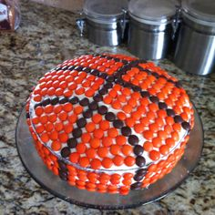 Basketball cake for Fathers Day!