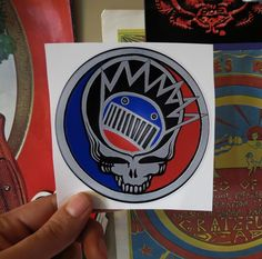 Steal Your Boognish / Grateful Dead / Ween / Red, Grey, Blue and Black Series / High Quality Vinyl / Sticker. $3.33, via Etsy.