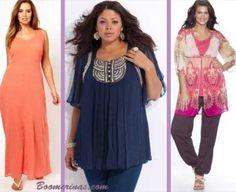 boho chic hippie plus size clothes: Photos Asos Curve, Laredoute (2) prshots.com