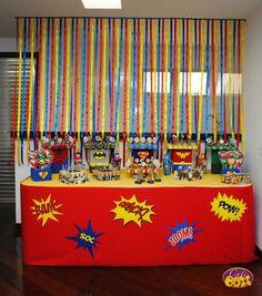 Decoração Festa Super Heróis