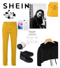 """""""Shein #3"""" by dorothysmile on Polyvore featuring Étoile Isabel Marant, Puma and Chanel"""