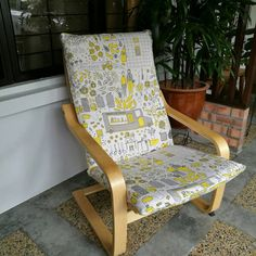 Ikea Poang Chair Covers Uk Folding No Legs 13 Best Custom Made Cushion Images Change How It Looks With This Customized Cover For Your Armchair The Is Completely Handmade By Local