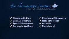 The Chiropractic Doctors Pllc - Chiropractor in Grand Rapids, MI Neck Headache, Headache Relief, Sports Chiropractor, Chiropractic Care, Doctor In, Neck Pain, Arthritis, Helping People, Health And Wellness