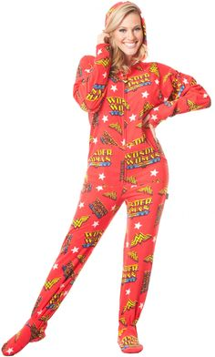 Wonder Woman Onesie. Try saying that after a drink...