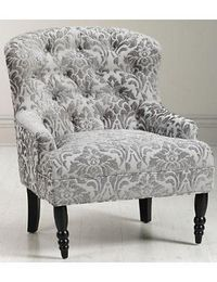 Tufted chair for the dining room table