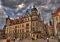 Dresden Castle Eccentric, 16th Century, Germany, Louvre, Old Things, Building, Travel, World, Kunst