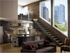 Dream loft from hitch movie | ... this style loft apartment (see: Eva Mendes' loft in the movie 'Hitch